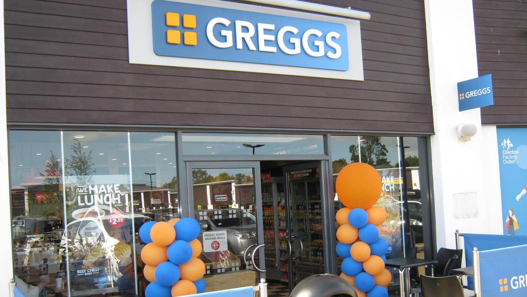 Greggs Clacton Shopping Village