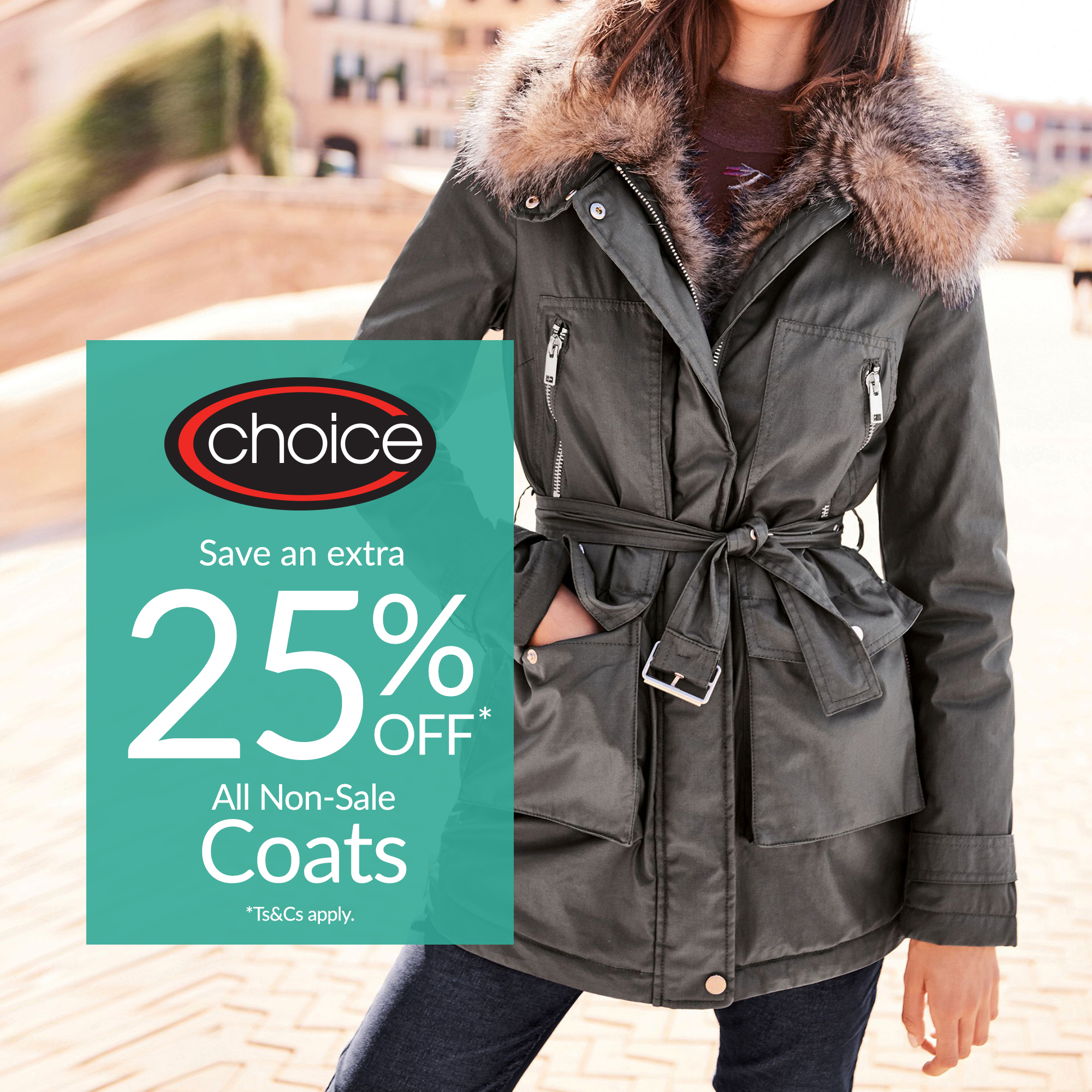 choice coat offer
