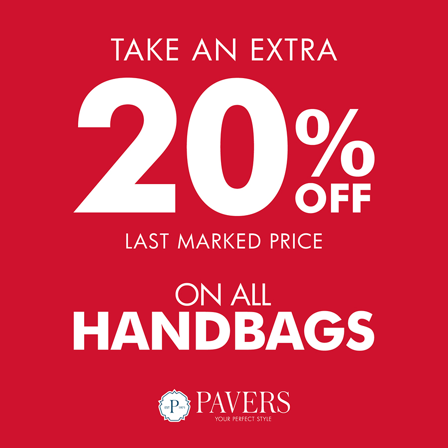 Handbags 20% A4 Pavers_900x900