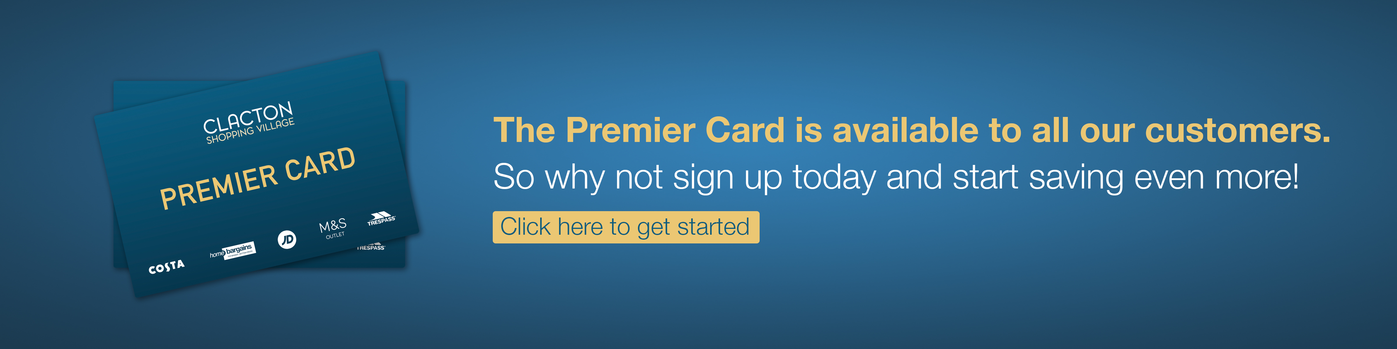 Join Our Premier Card